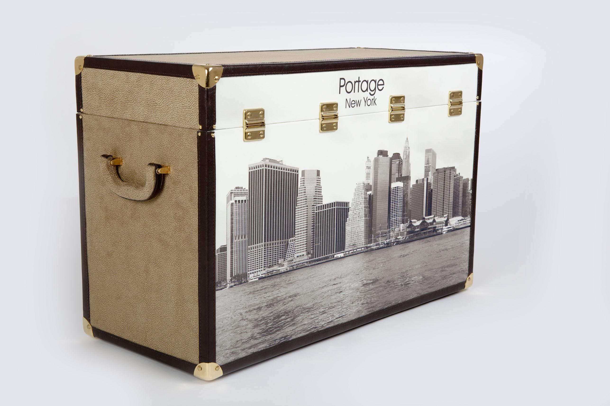 Baúles Portage con acabados de calidad hechos a mano en España