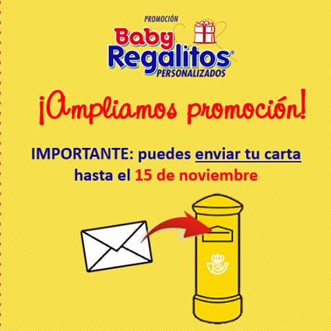 ampliación promoción baby regalitos hasta el 15 de noviembre